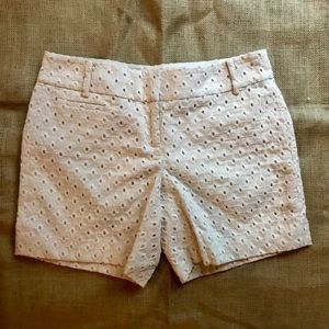 Ann Taylor LOFT Patterned Shorts Sz 0